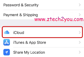 Sync-your-contacts-to-your-iCloud-Account-ztech2you