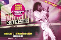Queen – A night in Bohemia al cinema il 16-17-18 maggio