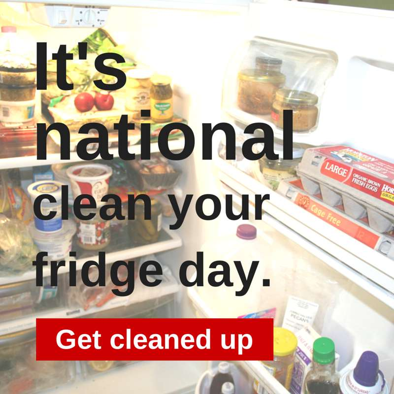 National Clean Out Your Fridge Day Wishes Images