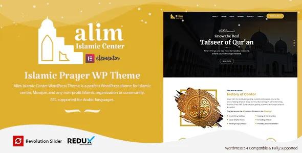 Islamic Institute & Mosque WordPress Theme