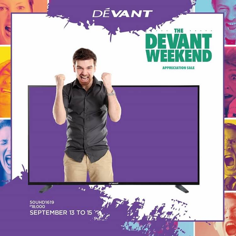 Devant Announces Weekend Appreciation Sale