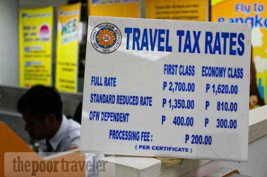 Removal of Philippine Travel Tax Proposed         ~          Philippine Flight Network