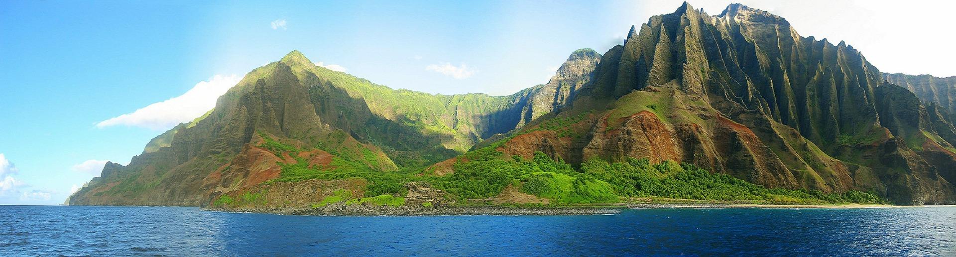 Panorama in Kauai