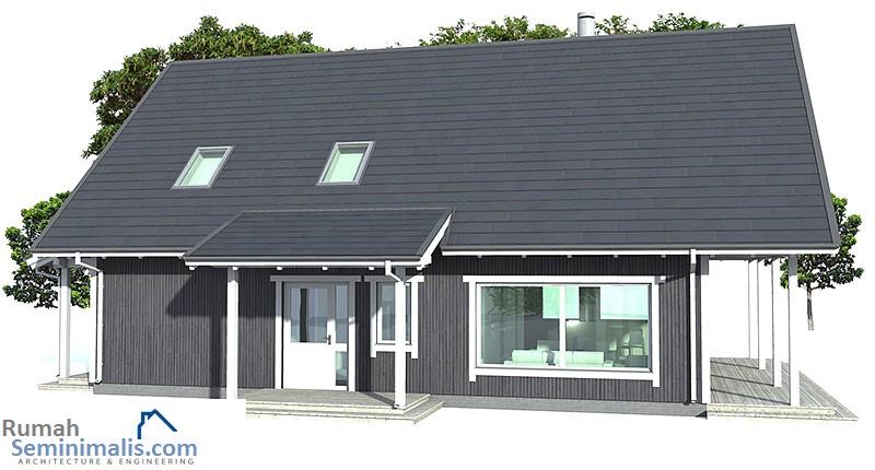 Denah Model Desain Gambar Rumah Minimalis Idaman Sederhana Tipe 137