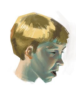 douglas deri, deri, art, fineart, oil, head studies, head paint, paint,head, expressions , tutorial, brush, conceptart, art, concept