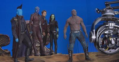 Guardianes de la Galaxia 2 detrás de las cámaras