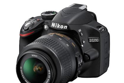 Harga Kamera DSLR Nikon D3200 Terbaru 2019 : Review dan Spesifikasi Lengkap