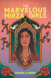 Cover image of book. Young woman in the center. A flower in each of the bottom corners. A moon above her head and a dove over each of her shoulders and branches reaching out from behind her through a window.