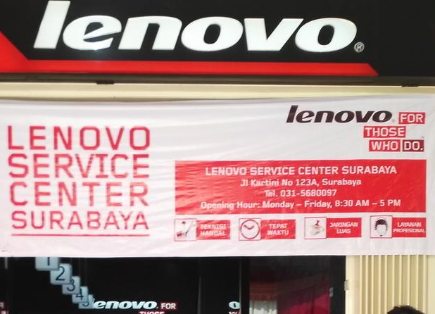 Alamat Service Center Hp Lenovo Surabaya