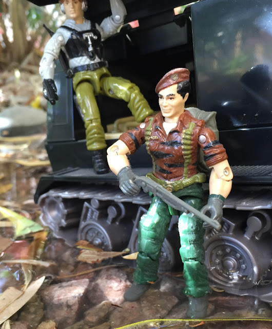 1988 Tiger Force Flint, 1989 Night Force Psyche Out, 2002 Night Rhino, Warthog