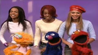 Destiny's Child, Grover, Elmo and Zoe sing A New Way to Walk. Sesame Street The Best of Elmo 2