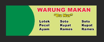 Membuat banner di Photoshop