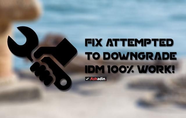 2 Cara atasi Error IDM Attempted to Downgrade Extensions di Google Chrome 100% berhasil!