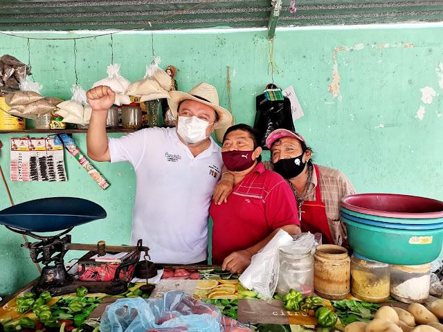 """Con la voluntad de la gente ganaremos el primer distrito local: """"Panchito"""" Torres"""