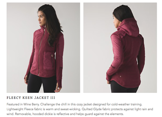 lululemon fleecy-keen wine-berry