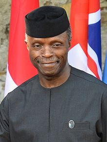 Vice president of Nigeria speech
