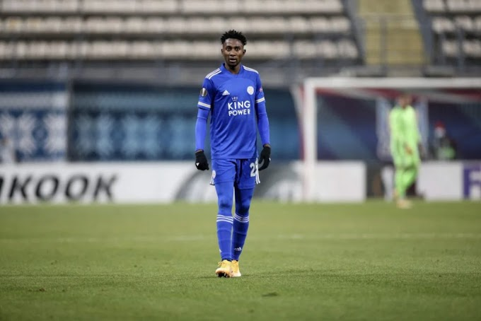 Ndidi Rues Leicester City Failure To Secure Top-Four Place