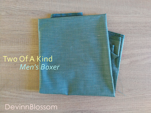 Two Of A Kind Men's Boxer : Exposed VS Hidden Elastic Waistband