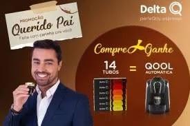 """Promoção Delta Q Dia dos Pais 2019 Compre Ganhe Máquina Café """"Querido Pai"""""""