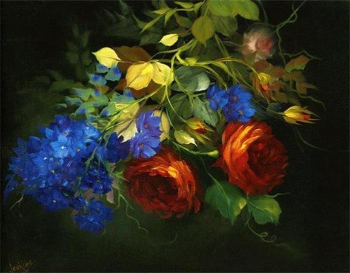 Цветочные картины. Gary Jenkins 13