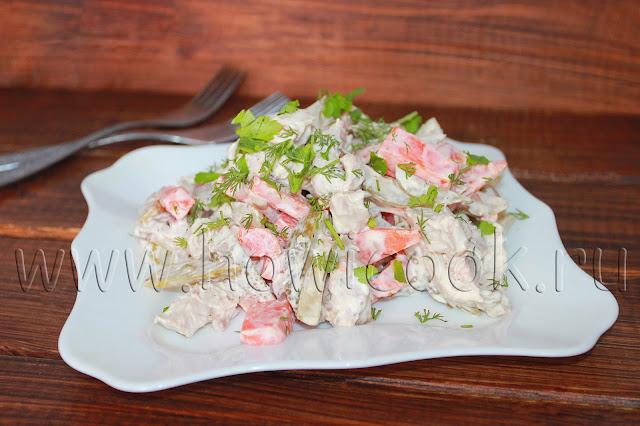 рецепт салата обжорка от марии порошиной