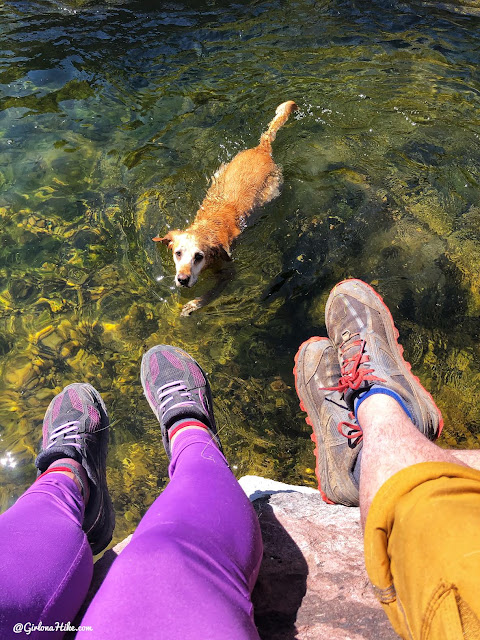 Camping & Exploring at Flaming Gorge National Rec Area, Hiking the Little Hole Trail