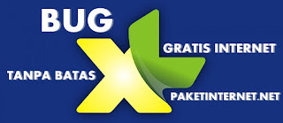 BUG XL Internet Gratis Unlimited