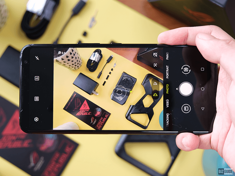ROG Phone 3 camera app
