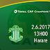 مباراة كابس يونايتد الزمبابوى والاهلى طرابلس الليبى اليوم والقنوات الناقلة بى أن سبورت HD1