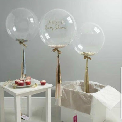 Qualatex 24 Inch Deco Bubble Balloon / Balon Transparan / Balon Bubble 24 Inch Qualatex