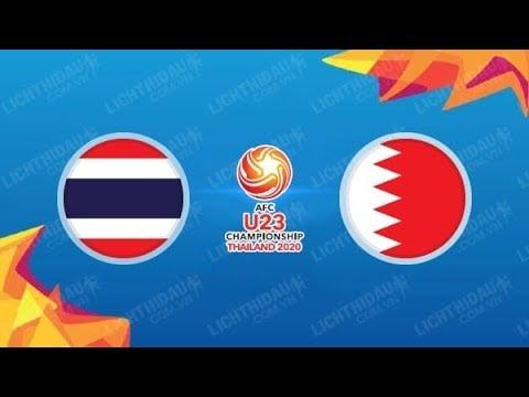 Live Streaming Thailand vs Bahrain AFC U23 (2020).
