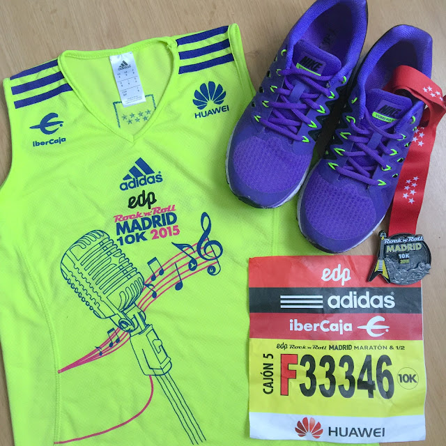 Mi Diario Runner - 10K Rock'n'Roll Madrid