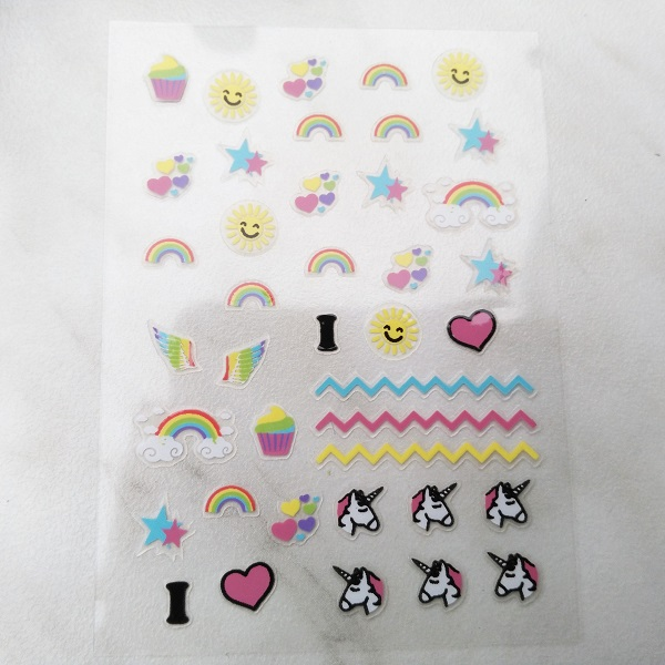 RdeL Young I love Unicorns Nail Sticker (LE)