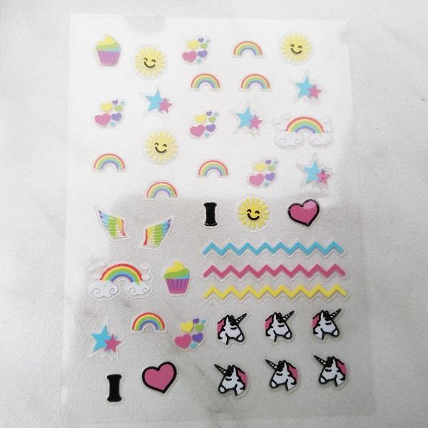 RdeL Young I love Unicorns Nail Sticker (LE)