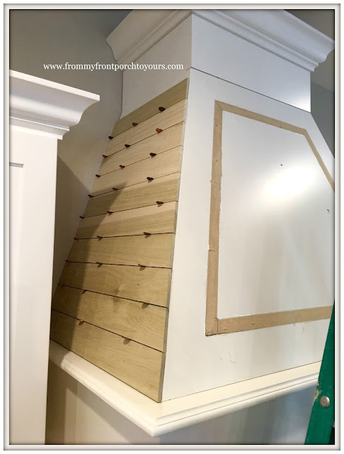 Farmhouse-Kitchen-Custom Range Hood-Shiplap-From My Front Porch To Yours