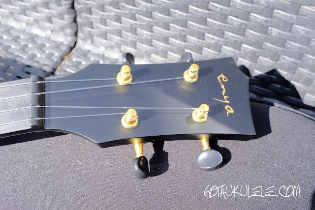 Enya Nova U Concert Ukulele headstock