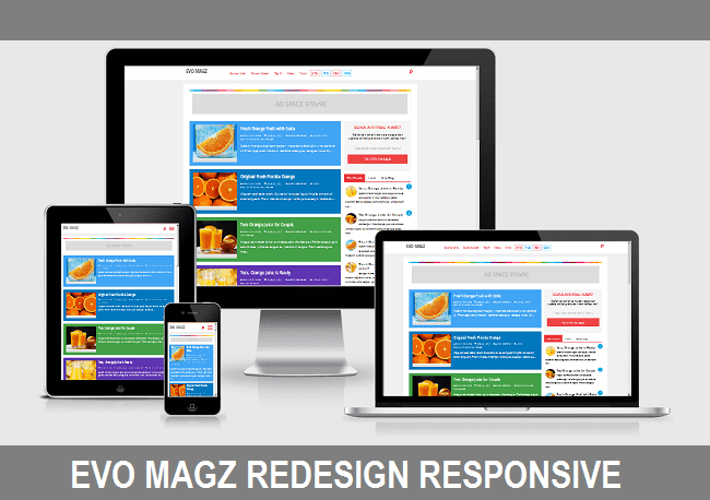Evo Magz Redesign Responsive Free Download