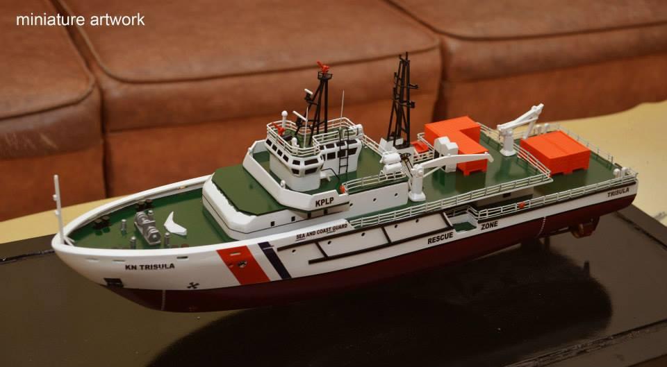 tempat jual miniatur kapal kn trisula p111 kplp kesatuan penjaga laut dan pantai sea and coast guard planet kapal bergaransi terpercaya