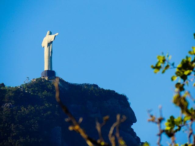 3. Christ the Redeemer, Brazil