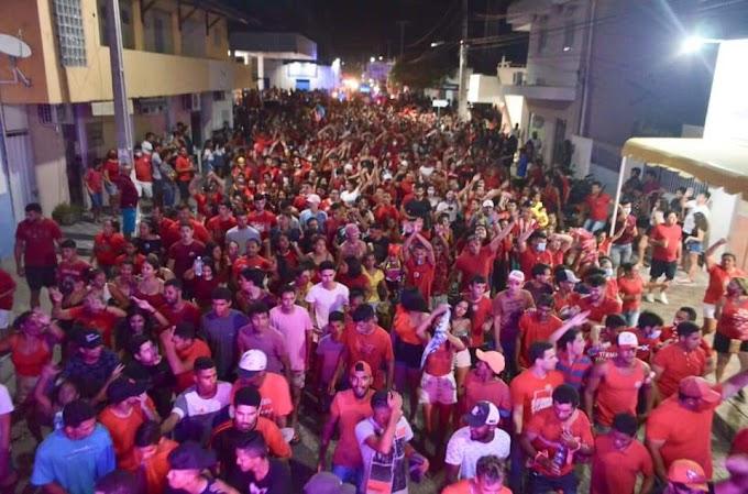 Fim de semana marcado com grande mobilizações política em Angicos