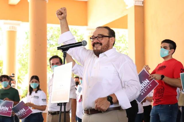 Sé lo que tenemos que hacer para devolverle a Mérida toda su dignidad: Ramírez Marín