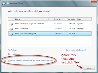 Windows Cannot Be Installed to This Disk MBR GPT Disk