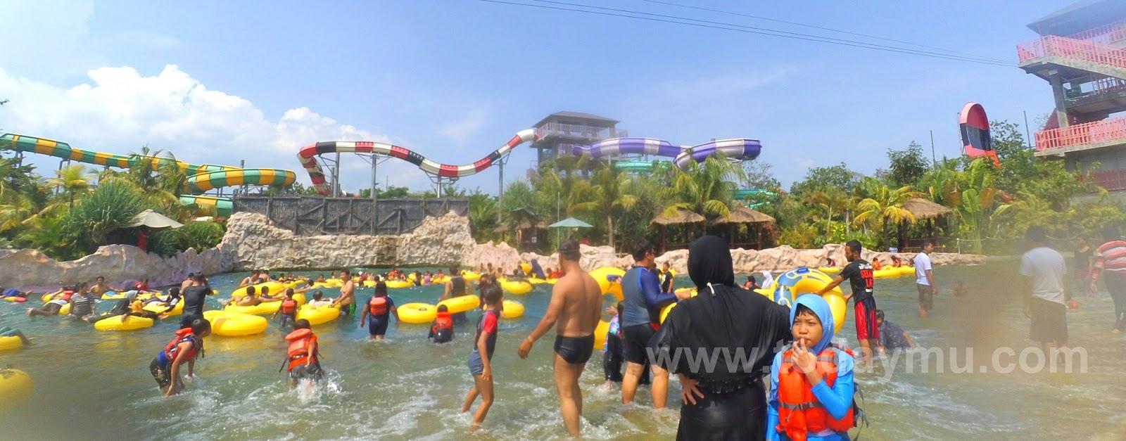 Menikmati Serunya JogjaBay Pirates Adventure Waterpark