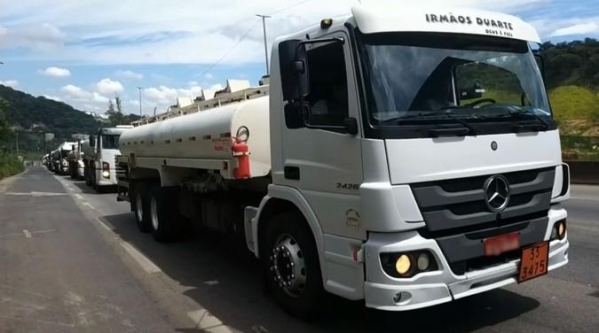 Pode faltar combustível: Tanqueiros de Minas Gerais iniciam greve por tempo indeterminado
