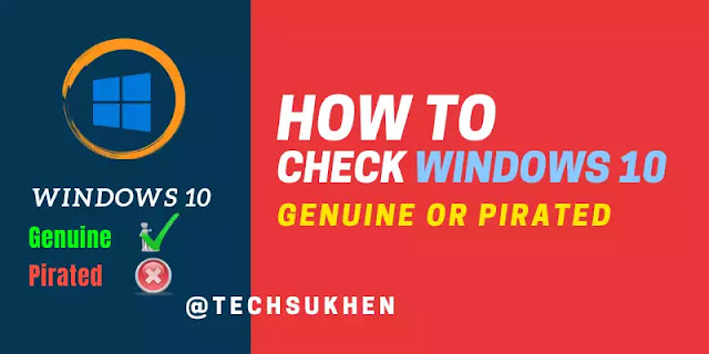 How to check windows is genuine or cracked   simple steps