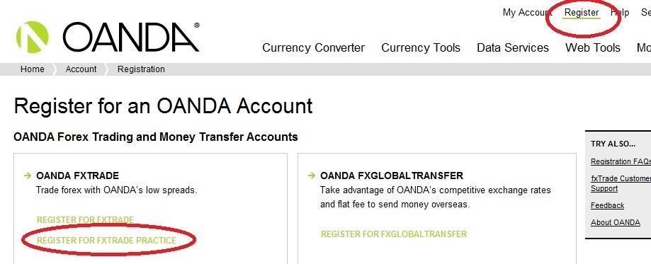 Oanda forex login - Fx opciones de precio promedio