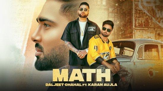 Math Lyrics Daljit Chahal X Karan Aujla