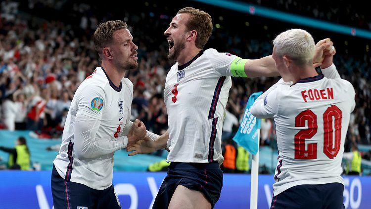 Kalahkan Denmark 2-1, Inggris Tantang Italia di Final Euro 2020