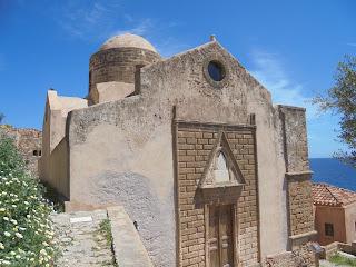 ο ναός του αγίου Νικολάου στη Μονεμβασιά