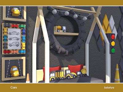 Детская в фантазийном стиле — наборы мебели и декора для Sims 4 со ссылками на скачивание